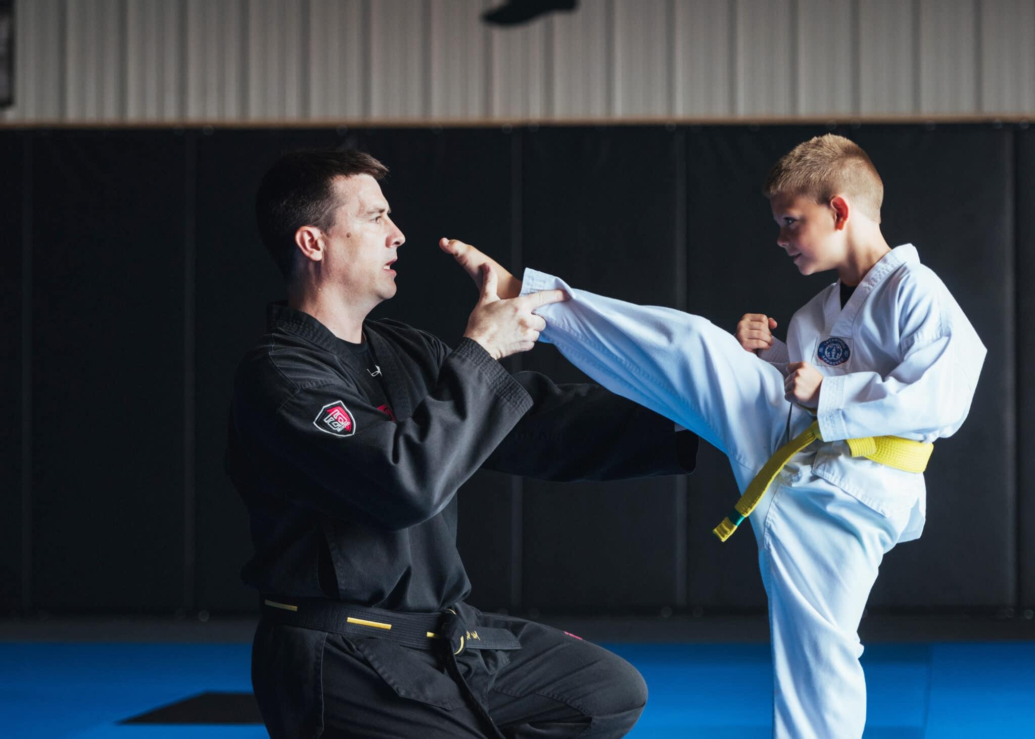 Total Taekwondo Master Kelley