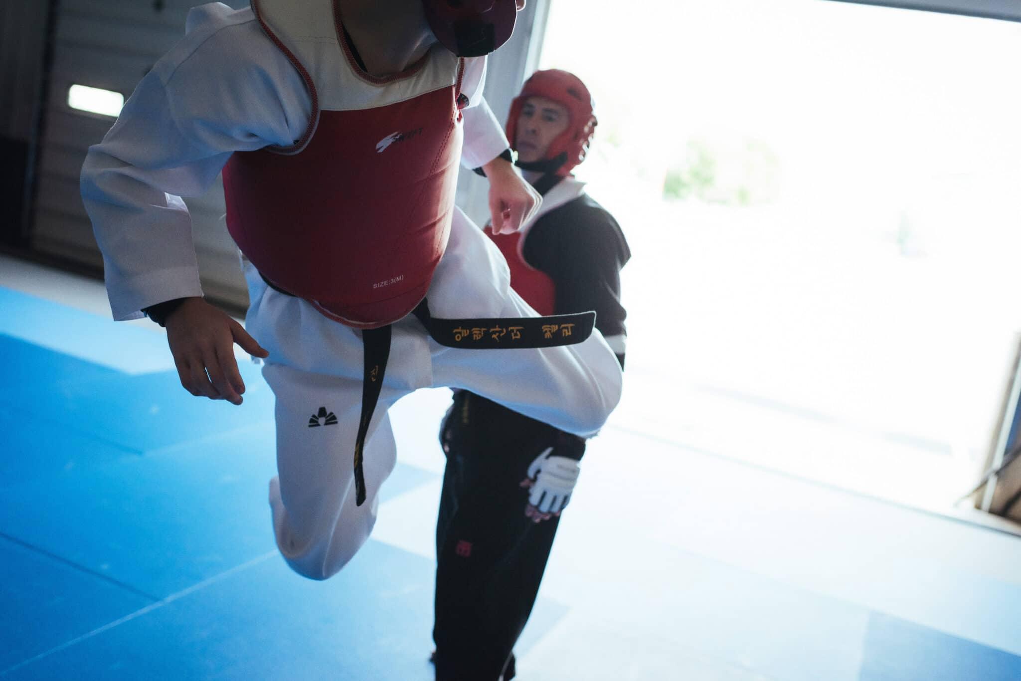 Total Taekwondo Our Core Sparring Class