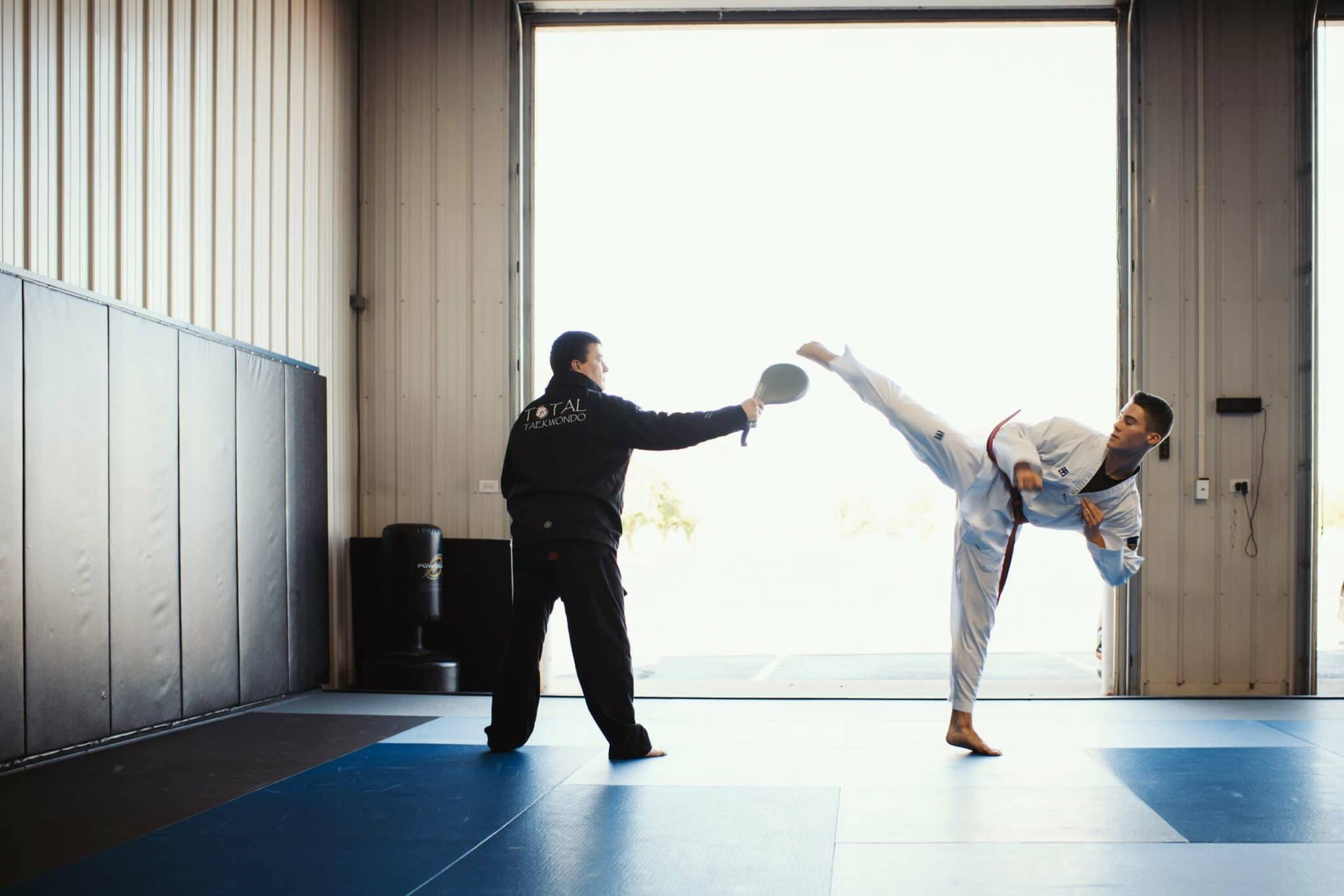 Total Taekwondo Tournament Team Classes